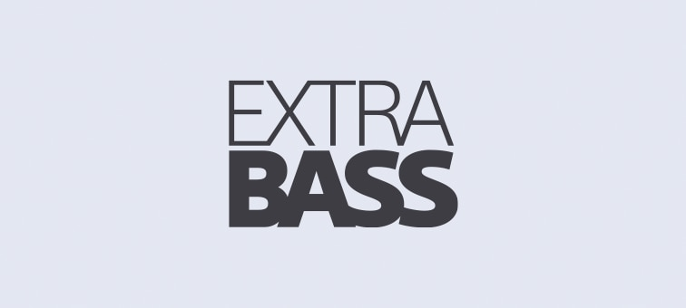 Logotipo de EXTRA BASS™