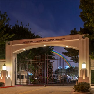 Puerta de entrada a Sony Pictures Entertainment
