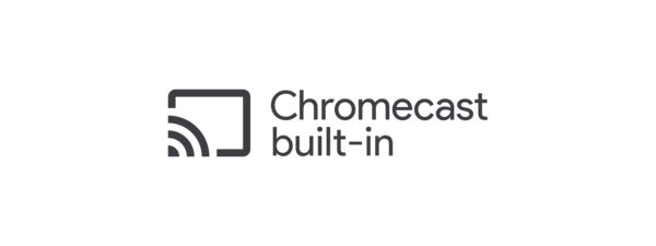 Logotipo de Chromecast integrado
