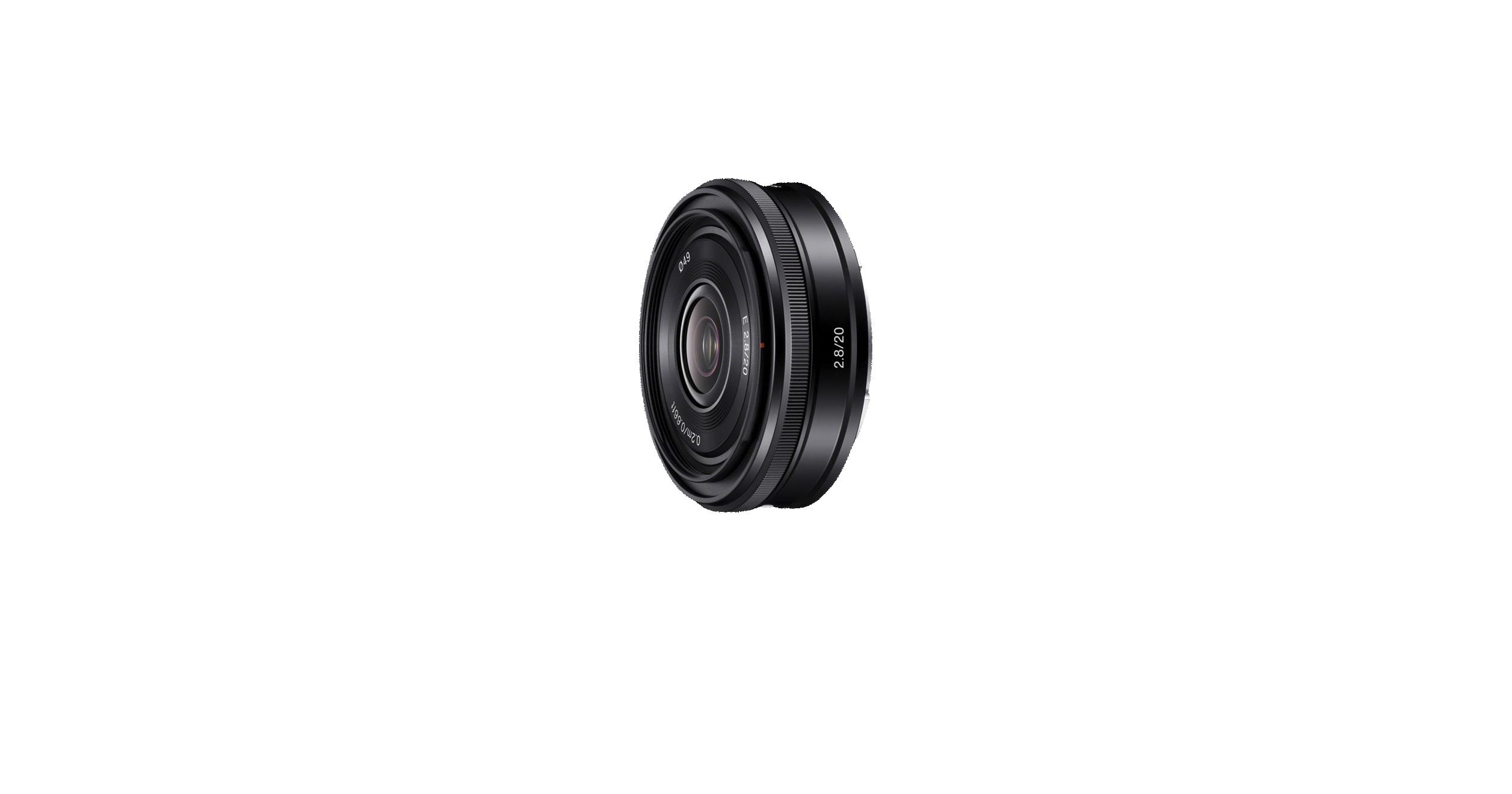 Lente cámara | Gran angular lente 20mm | SEL20F28 | Sony CO