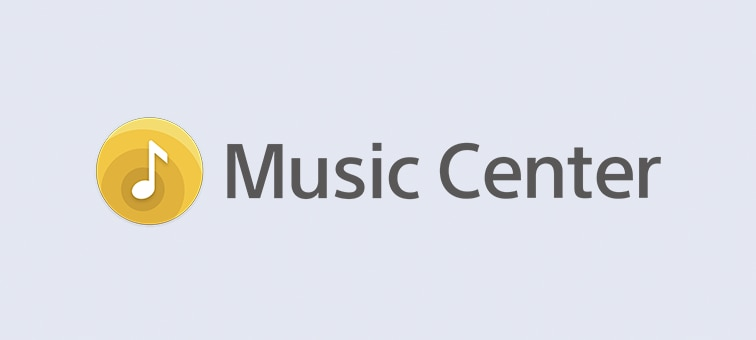Logotipo de Sony  Music Center