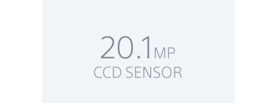 Sensor Super HAD CCD de 20,1 MP