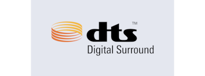 Logotipo de DTS® Digital Surround
