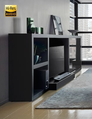 Barra de sonido con High Resolution Audio